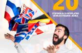 20 stipendija za učenje stranih jezika